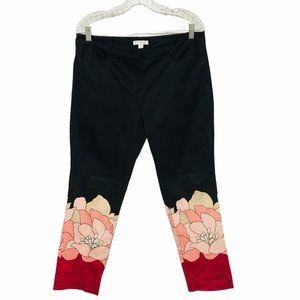 New York & Company Abstract Stretch Pants